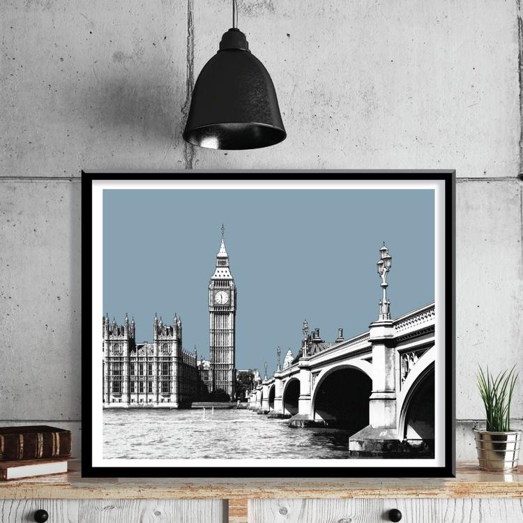 London Art Print - Big Ben & Westminster - Image 0