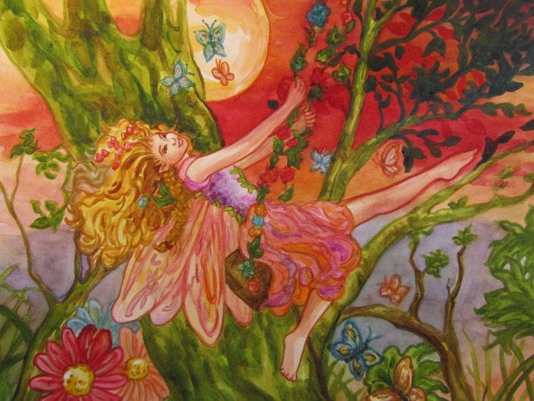 Fairy at Sunset - Image 0