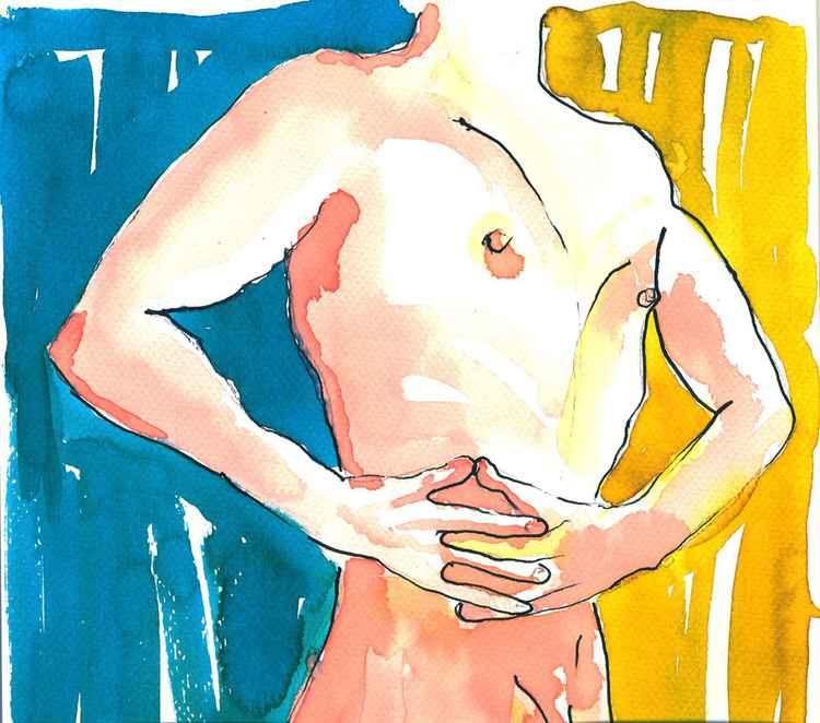 Male Nude Study -