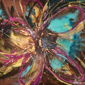 Frangipani by Caroline Ashwood