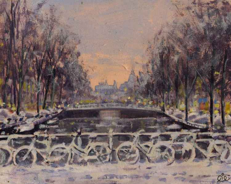 Snow bikes Amsterdam -