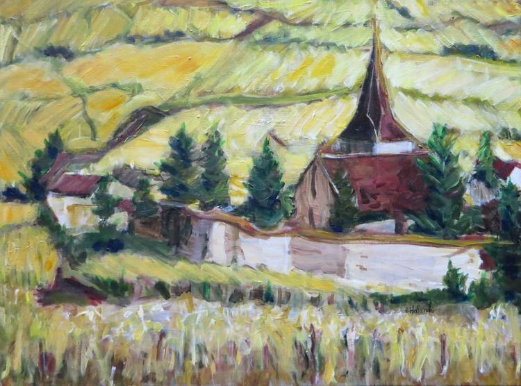 Village in Vineyards - Image 0