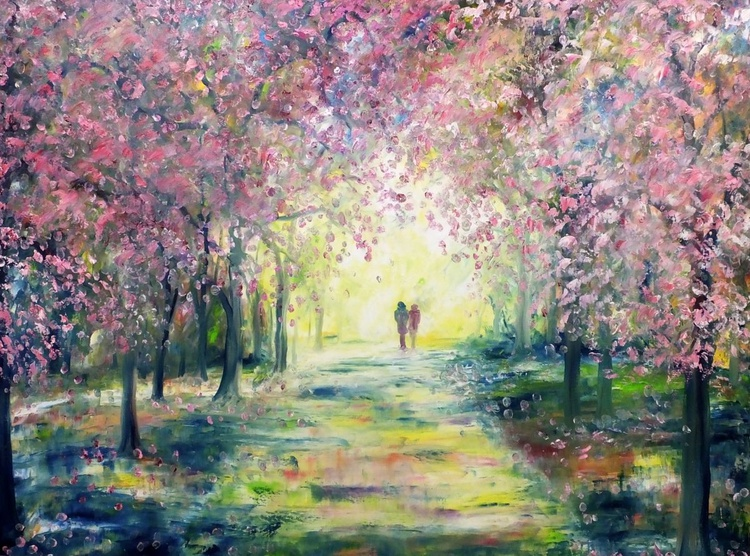 Blossoming Romance (Large) - Image 0
