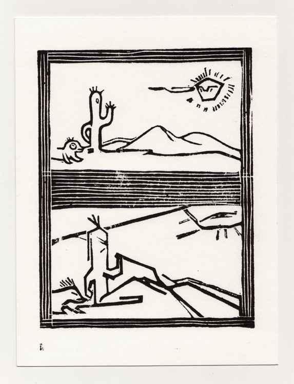 Tribal Cactus -