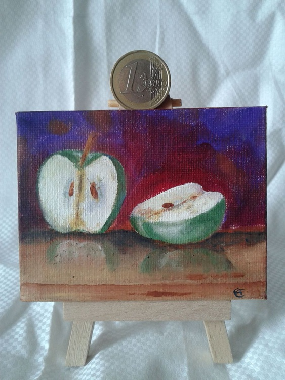 Miniature #002 - Easel included - Image 0