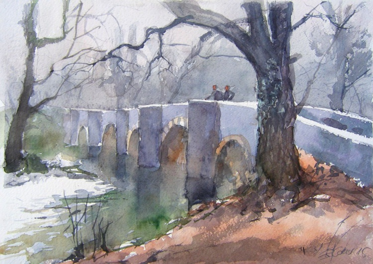 Respryn bridge over the River Fowey - Image 0