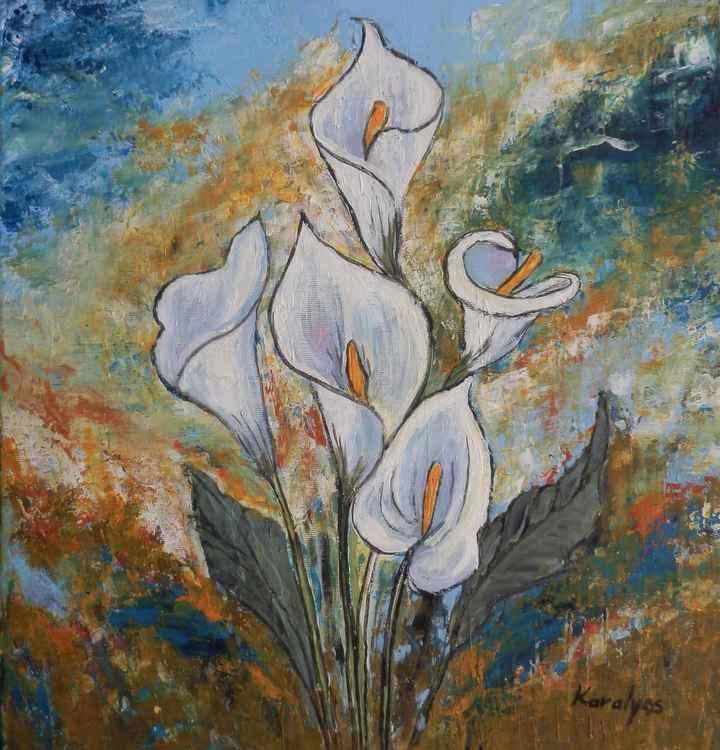 Calla lilies -