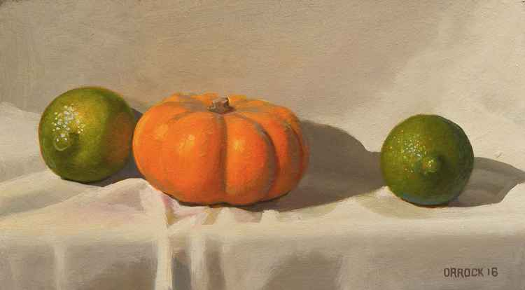 Giant limes or mini pumpkin?