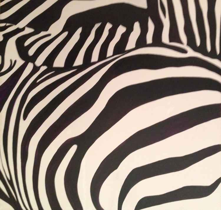 Three Zebras -