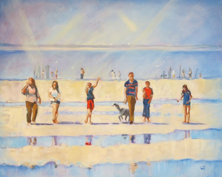 Join Us!  Family on the Beach. - Image 0
