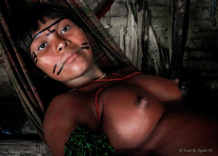 The Yanomami Woman - Amazon Rainforest - Bazil 2007 - Image 0