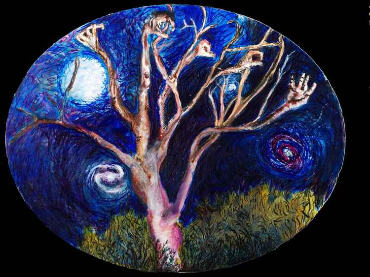 Tree and stars -