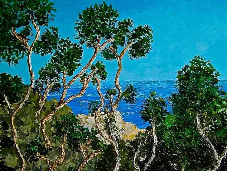 Costa Jónica en verano -