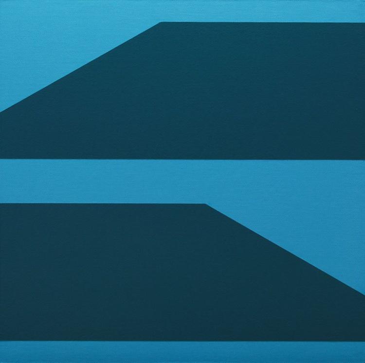 """KINESIS"" -  Modern / Minimal Geometric Painting - Image 0"