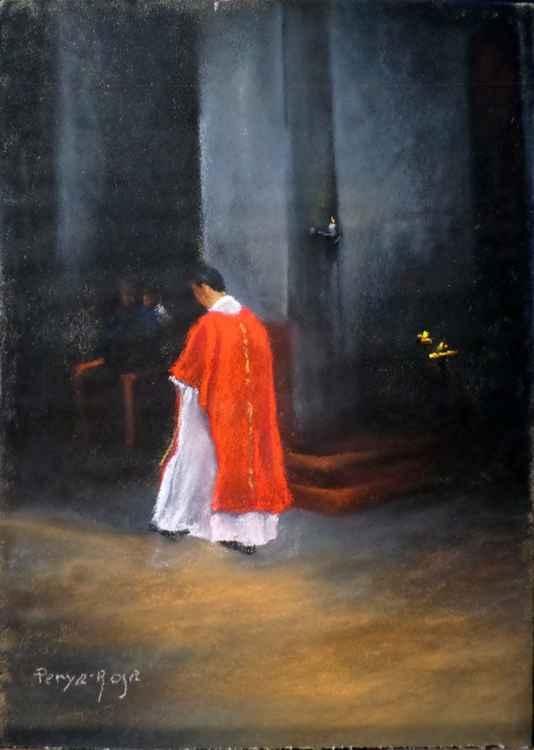 Religious scene -