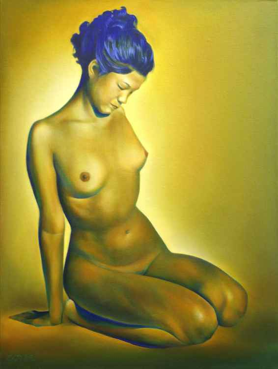 Chinese nude (2012) (sold)