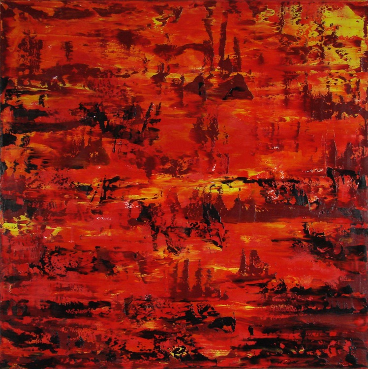 Fireland (80x80cm) - Image 0