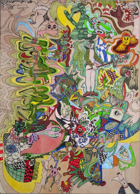 Triple Action - Signed orginal artwork - Image 0