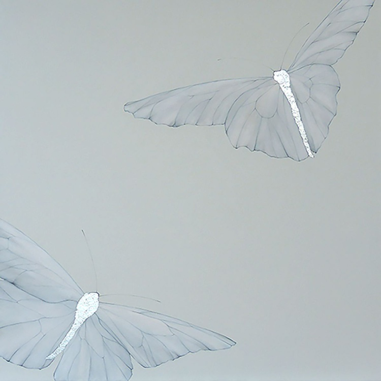 Two Giant Butterflies - Image 0