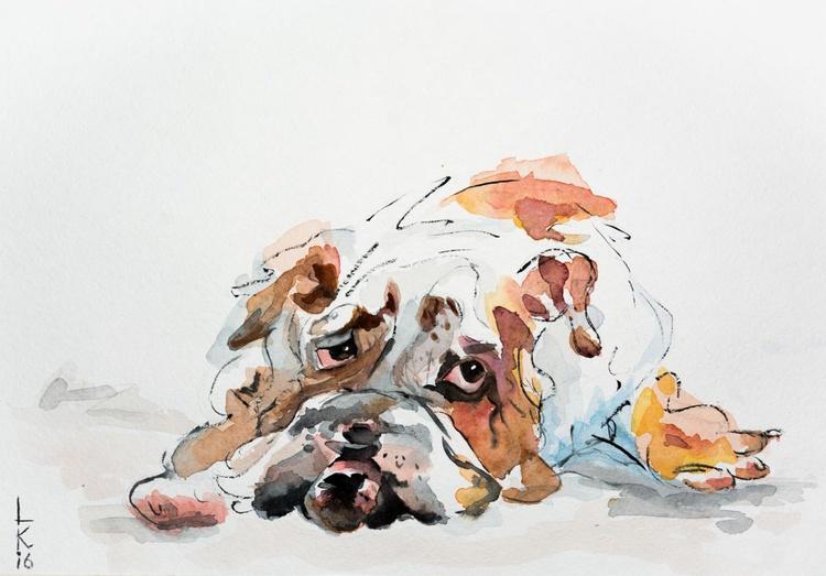 Sad dog - Image 0