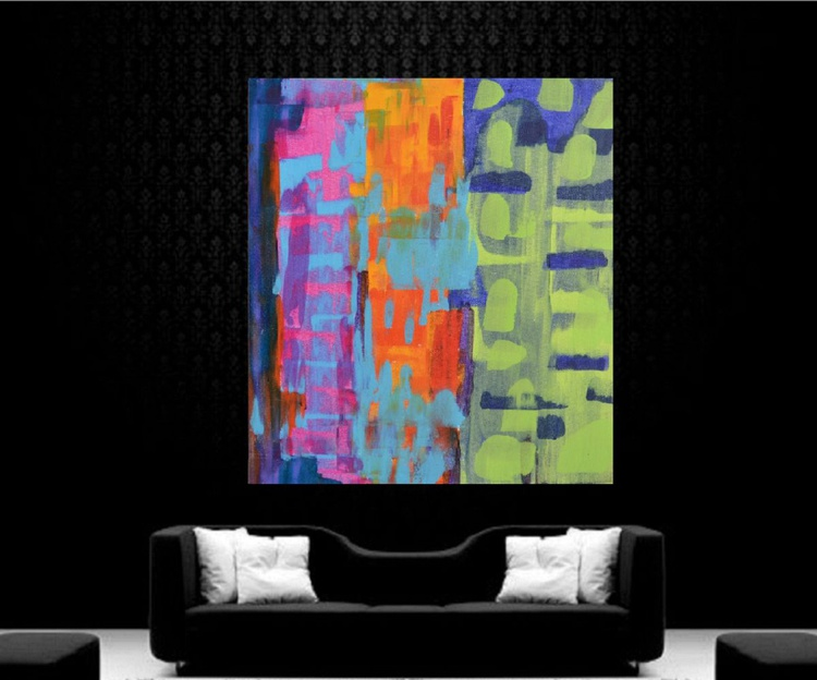 Spring Forever - 1 (60 * 76 cms , Ready to Hang) - Image 0