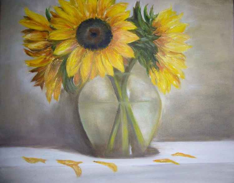 The Three Sunflowers -