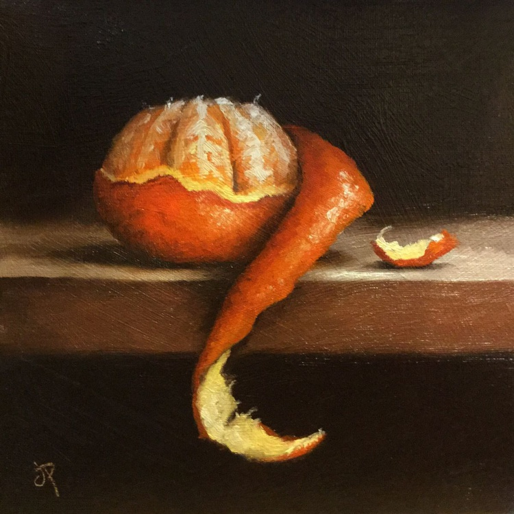Clementine peeled No.3 - Image 0