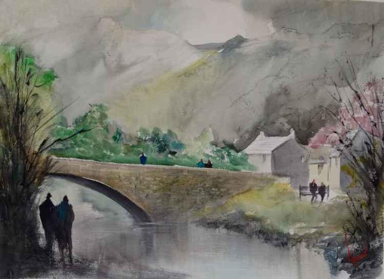 Grange In Borrowdale #3 - Original Watercolour Painting -