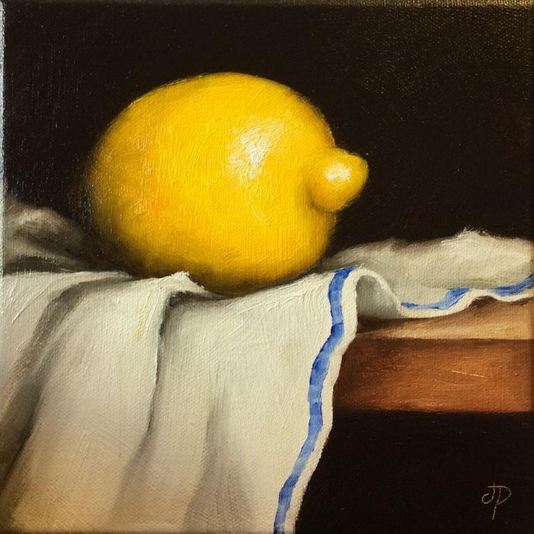 Lemon on cloth - Image 0