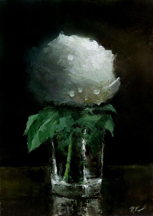 A Rosebud in a Glass - Image 0