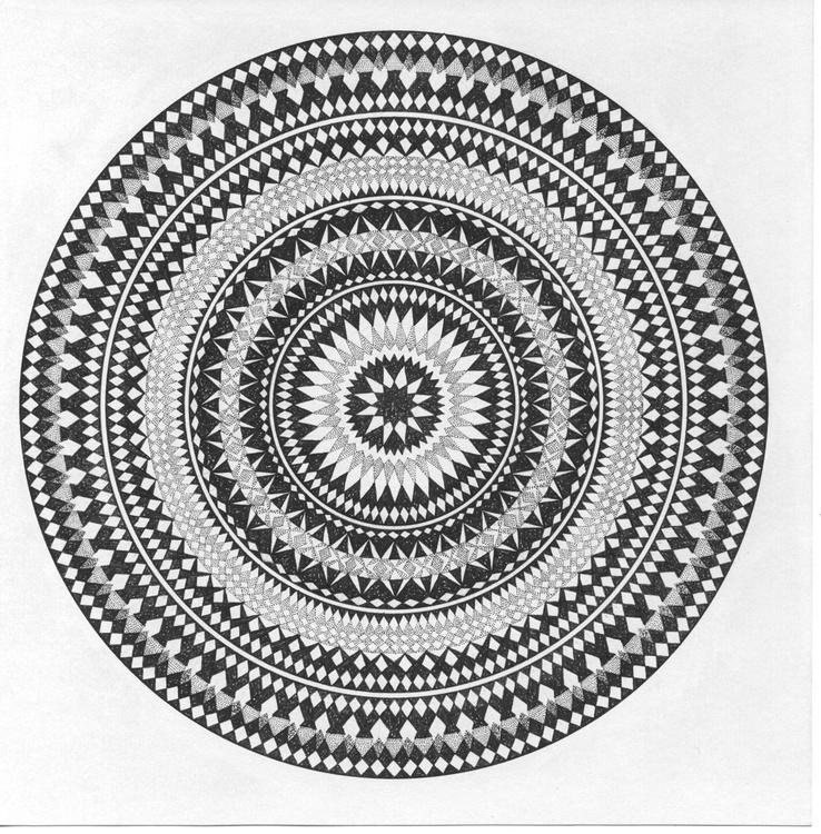ANGLE - Dotwork Mandala - Image 0