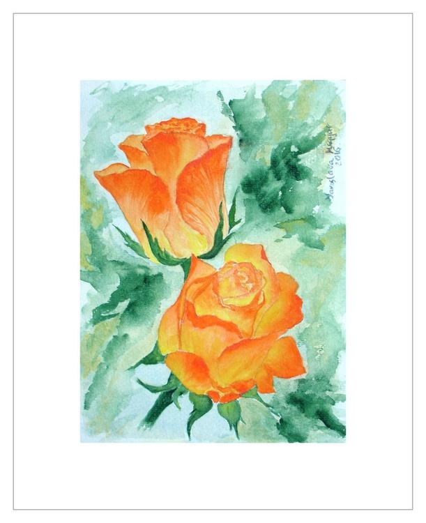 The Orange Roses - Image 0