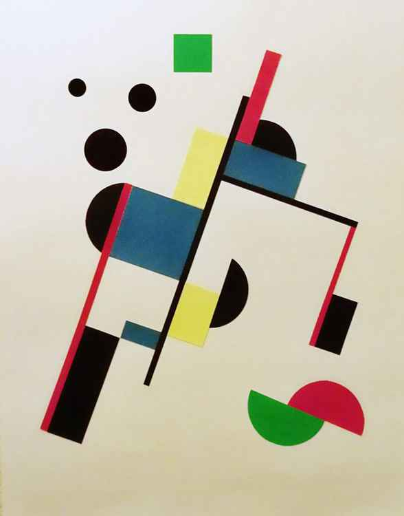 Suprematist Composition (Homage To Malevich) -