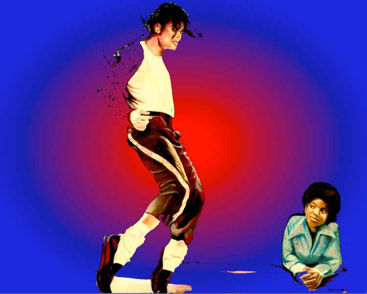 MJ - BLACK OR WHITE
