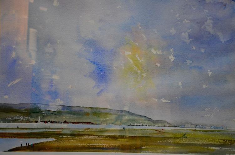 Lymington Marshes near Hurst Castle - Image 0