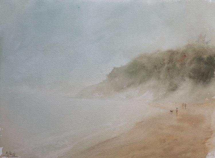 Mothecombe Beach, Devon, England - Image 0
