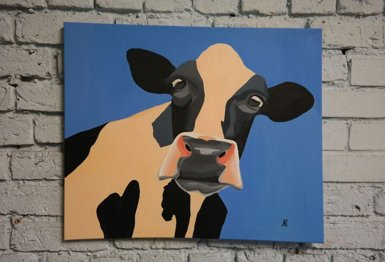 """""""Once in a blue moo... - Image 0"""