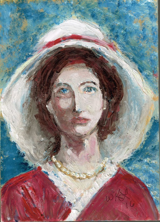 Lady with a Broad Hat - Image 0