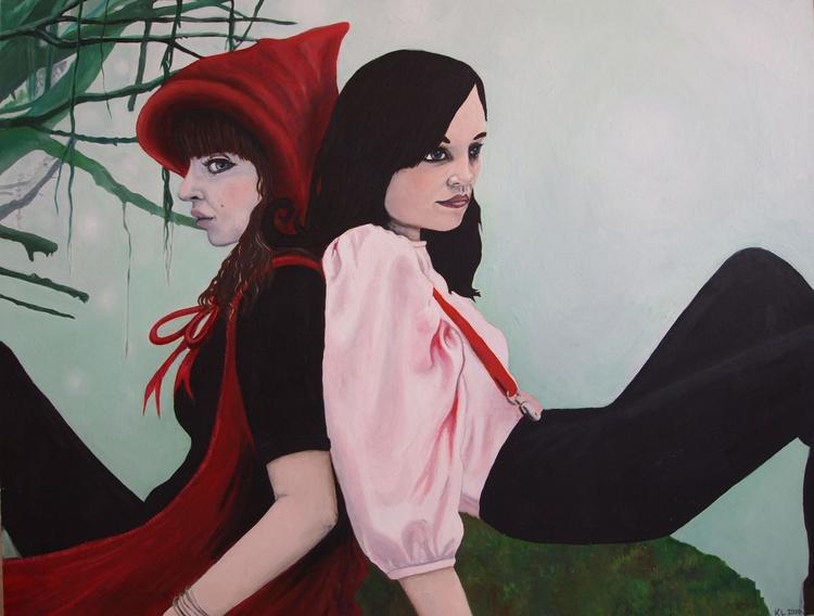 Two Girls - Image 0
