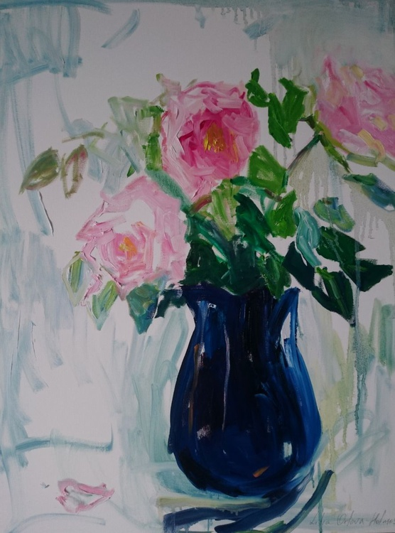 Roses from a little cottage - Image 0