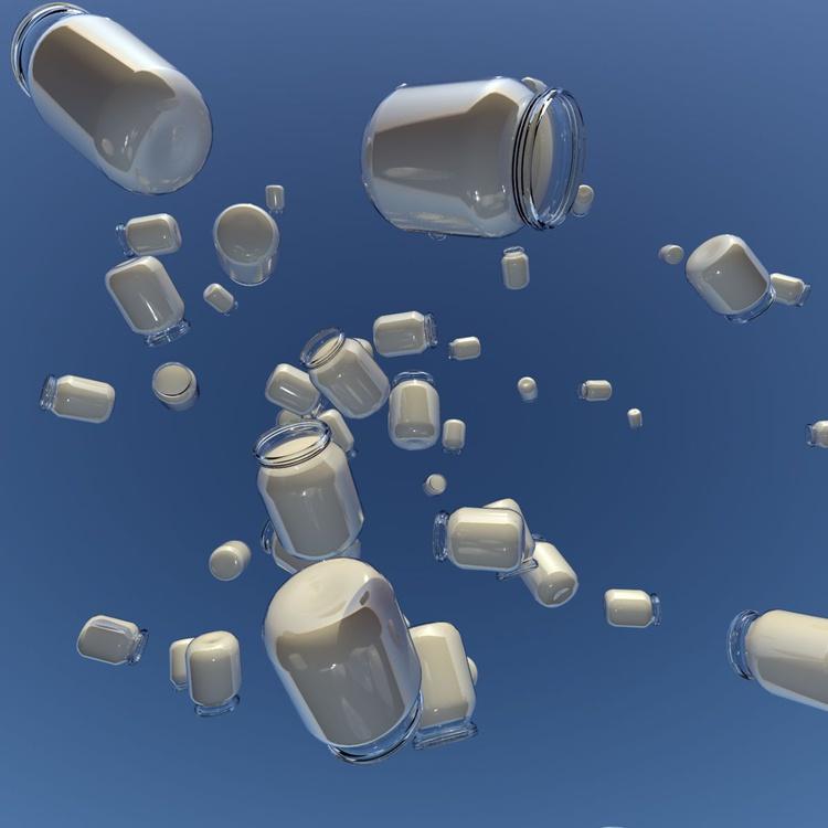 Yogurt in the Sky No. 73 - Image 0