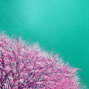 Park Life...Pink and Aqua by Marc Todd