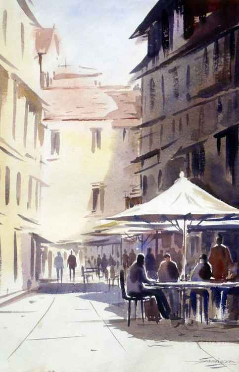 Morning Venice Cafe -