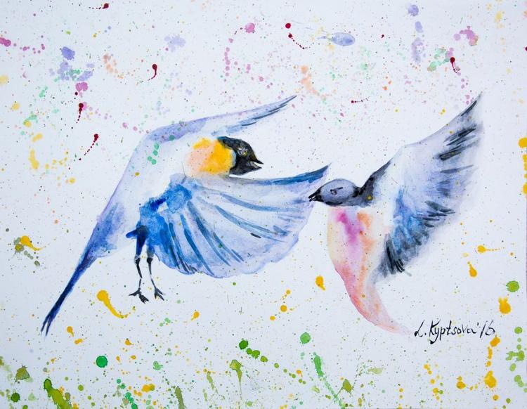 Happy birds - Image 0
