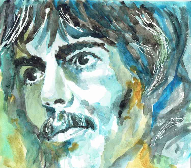 GEORGE HARRISON PORTRAIT -