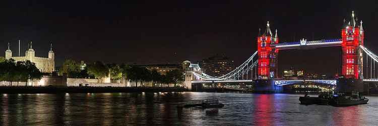 Tower Bridge in Red