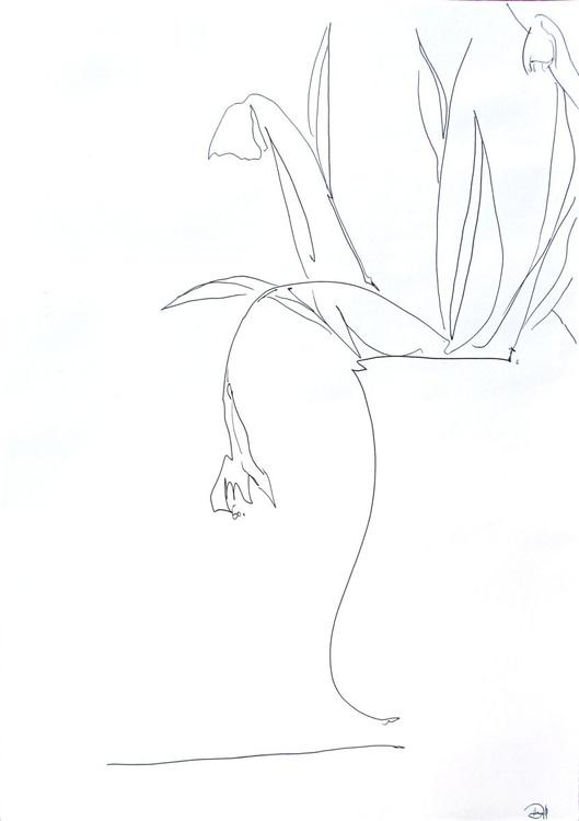Snowdrops in Vase - Image 0