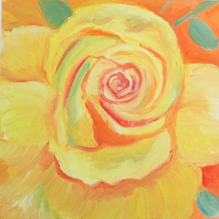 Yellow rose mini - Image 0