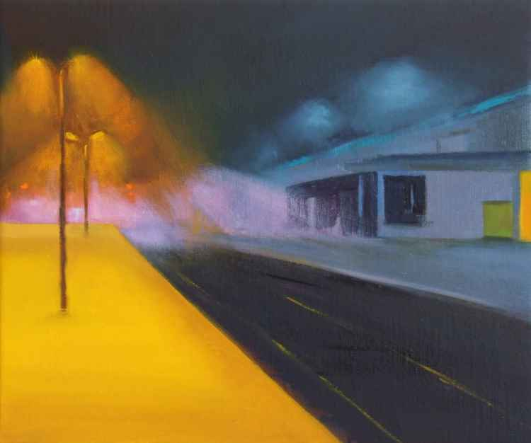 A Railway Nocturne VI -