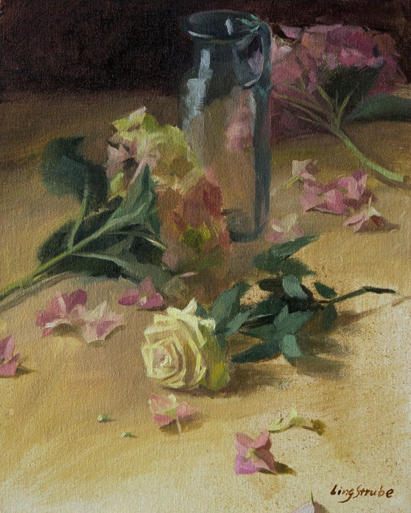 Still Life with Rose - Image 0